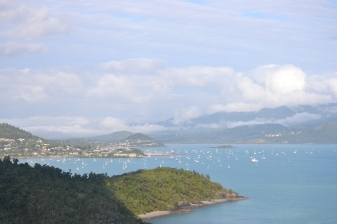 Airlie beach drifts away