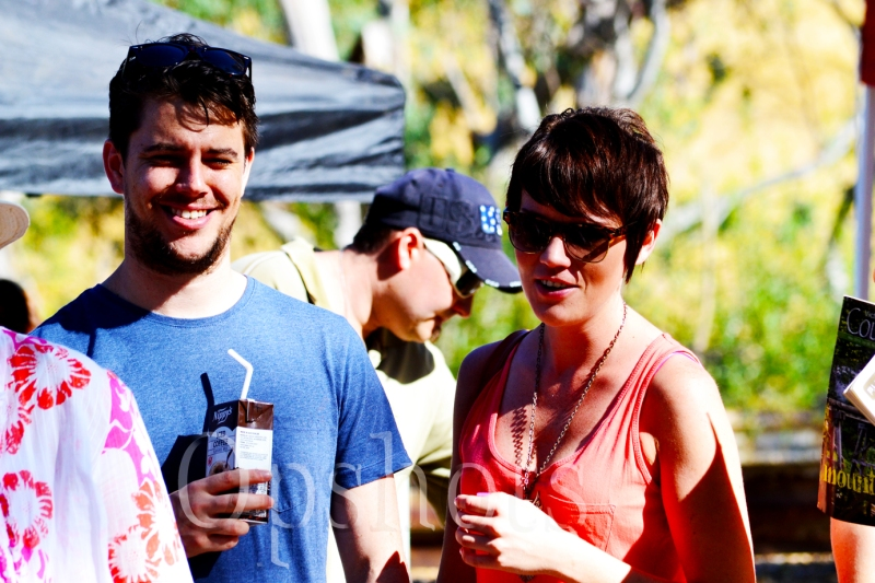 Rhiannon and her boyfriend Michael