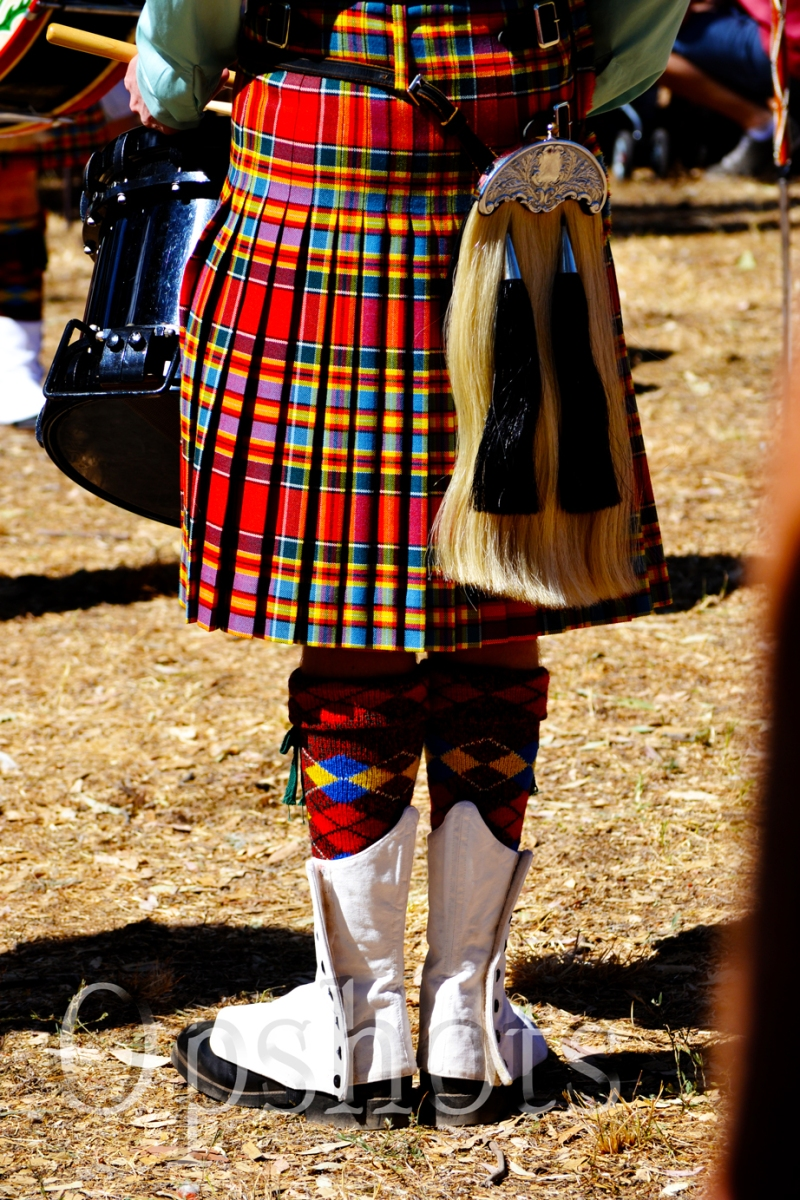 The pipe band was fantastic ..channelled my inner Scot!