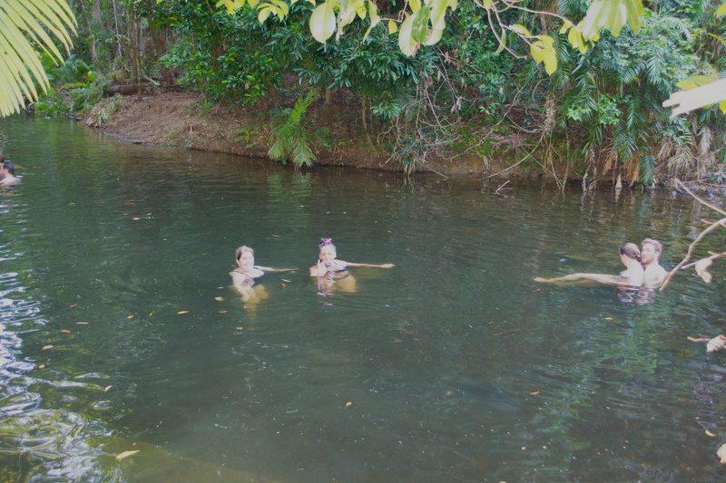Chatting with us girls in the water..Bashful right at home