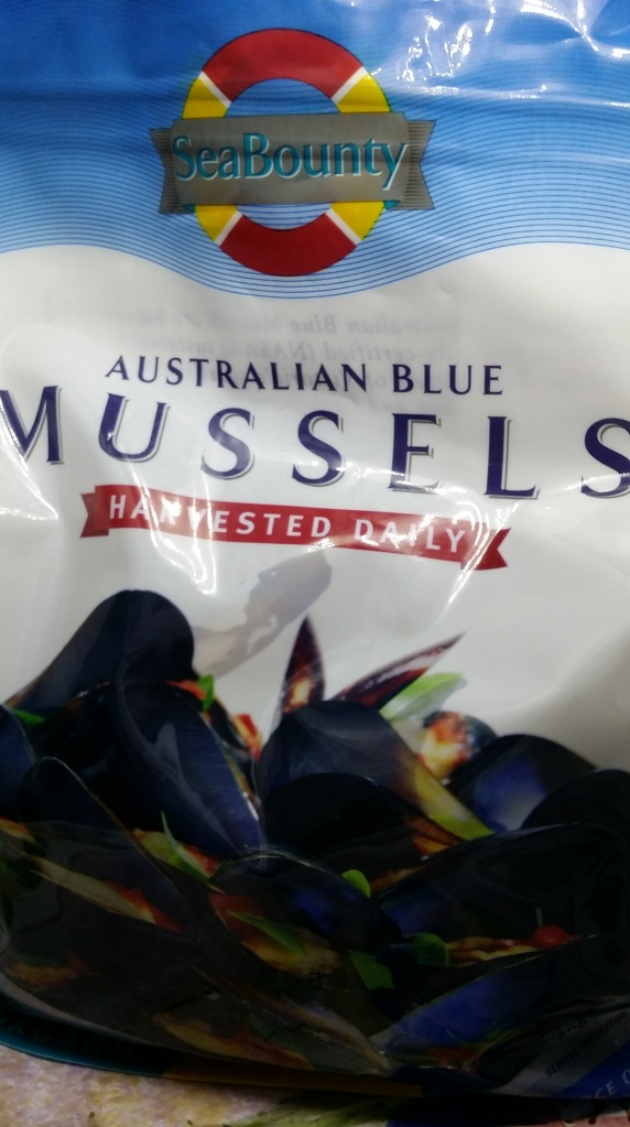 Freshly farmed Mussels