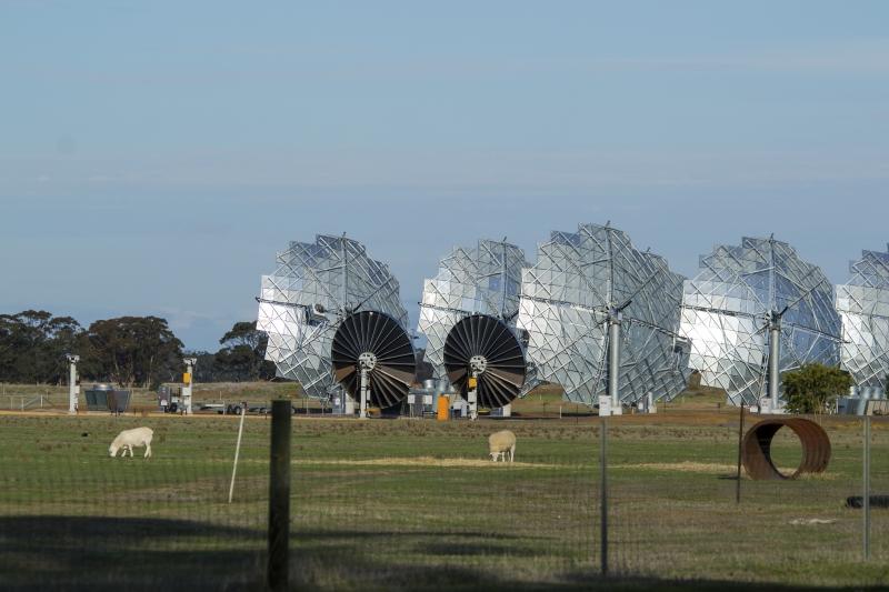 Solar plant in Bridgewater