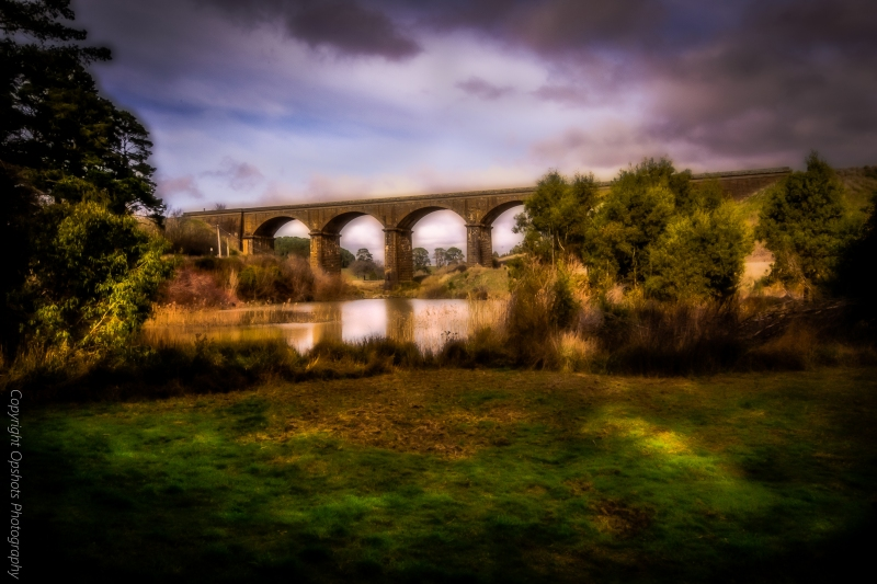 Playing with images taken @ Malsmbury of the Viaduct