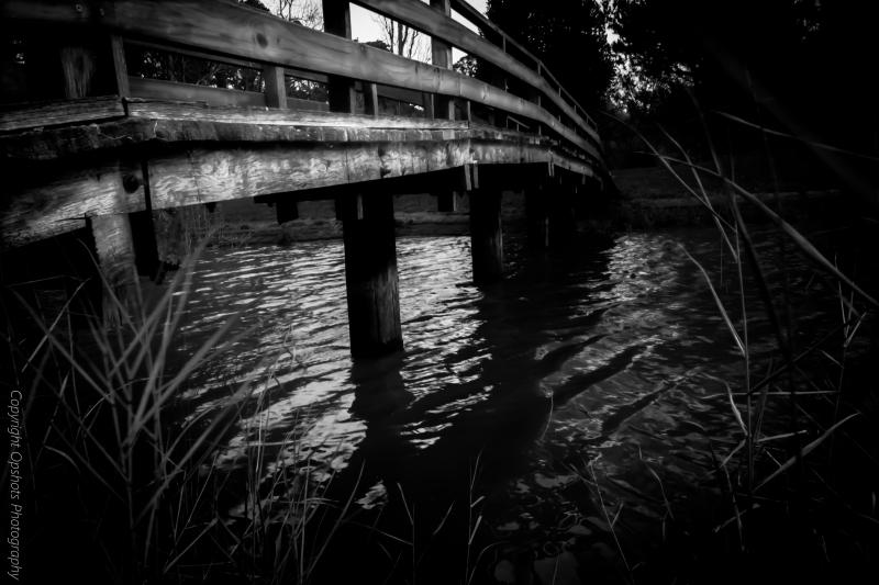 The bridge over duck ponds @ Malsmbury