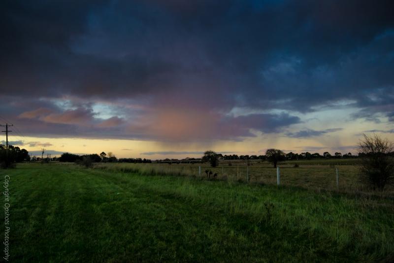 Kyneton storm skies